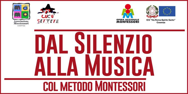 Corso | Dal Silenzio alla Musica col Metodo Montessori