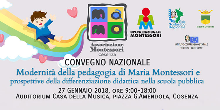 Convegno Nazionale Montessori a Cosenza