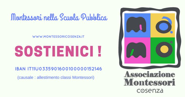 Raccolta  fondi per l'allestimento delle sezioni Montessori