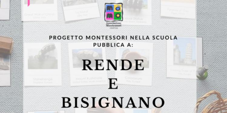 Il Progetto Montessori arriva a Rende e Bisignano!