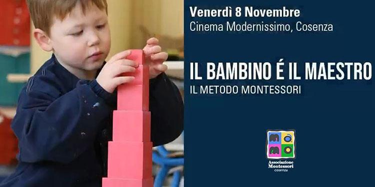 """Proiezione Film """"Il Bambino è il maestro.Il metodo Montessori"""""""